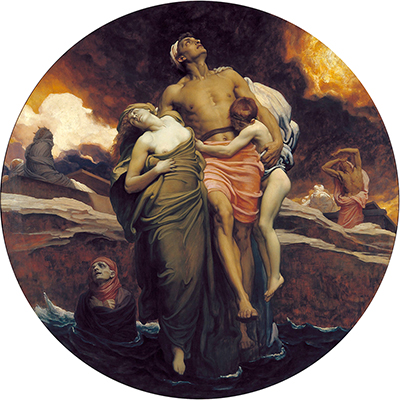 And the Sea Gave Up Frederic Leighton